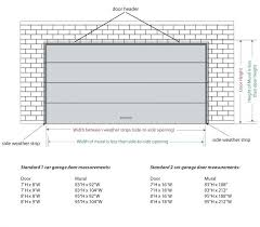 garage door widthsSingle Sectional Door Sizes And Dimensions Garage Doors Home