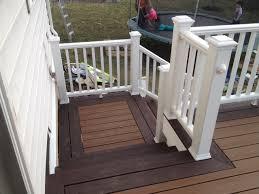 trex deck lighting. Trex Transcends Deck Colors: Treehouse \u0026 Firepit Accent. #Trex #Deck Lighting, Post And Stair Lighting
