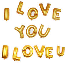 2015 New CHEAP Foil Letter for Party Decoration Ballon 16 Inch Gold Silver Letter Balloons I x