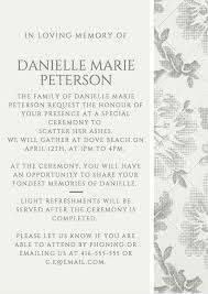 words invitation 39 best funeral reception invitations love lives on