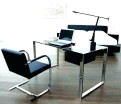glass top office table chic. Glass Top Office Table. Modern Computer Desk Table Charming Chic E