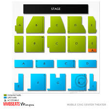 Mobile Civic Center Theater Seating Chart Mobile Civic Center Theater Related Keywords Suggestions