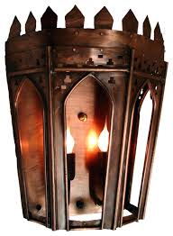 gothic wall sconces gas light pro sconce in copper outdoor for candles