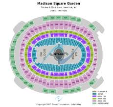 Mag Seating Chart Detailed Msg Seating Chart For Ufc Madison Square Garden