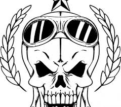 Small Picture Pictures of skulls to color free printable skull coloring pages