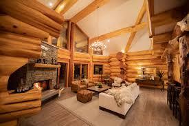 Grand Designs New Zealand Log House River Ridge New Zealand Pioneer Log Homes Of Bc