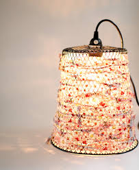 i mentioned on my blog a couple of weeks ago that i had found a 2 wire waste basket and i was going to turn it into a pendant light