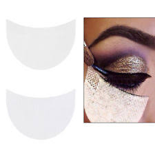10 20 50pcs eyelash extension under eye shadow stickers pads lint cal tape