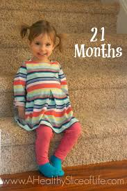 Food Chart For 21 Month Old Baby Kaitlyn At 21 Months A Healthy Slice Of Life