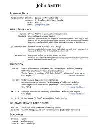 High School Student Resume Sample Example Of Job Resume First Job