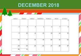 December Calendar Blank Blank December 2018 Calendar Template Download Calendar 2018 Printable