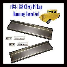 1934 1935 1936 Chevy Pickup Truck 1/2 Ton and Panel Delivery Running ...