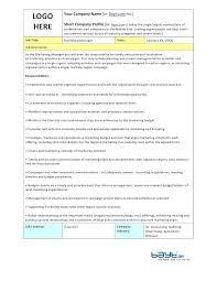 Marketing Manager Job Description Social Media Proposal Outline New ...