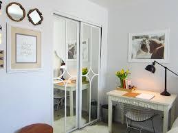 Mirrored Kitchen Cabinet Doors Mirrored Closet Door Makeover