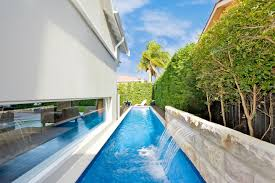 Awesome Coolest Home Lap Pool Design With Furniture Home Design Ideas With  Home Lap Pool Design