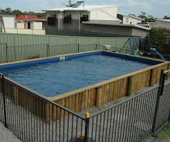 Diy Pool Waterfall Above Ground Pool Installation Diy