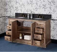 rustic double sink bathroom vanities. Simple Rustic Antique WK Series 60 Inch Rustic Double Sink Bathroom Vanity Inside Vanities Y