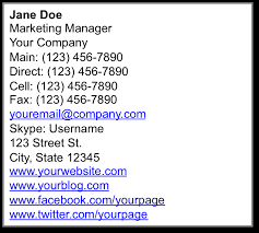 Company Email Signature 10 Examples Of Business Email Signatures 2019 Mailbird