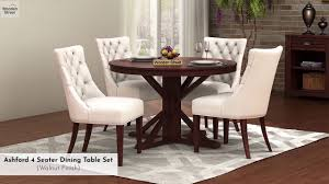 4 seater dining table set ashford 4 seater dining set in from wooden street