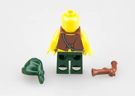 фигурка Lego Pirates Pi095 пиратские татуировки пират