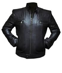 ghosts of girlfriends past leather jacket