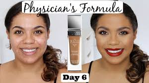 new physician s formula healthy foundation review oily skin scarring