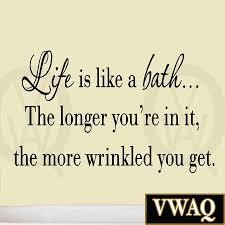 vinyl wall art bathroom quotes