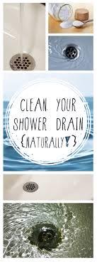 how to clean a bathtub drain naturally ideas