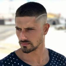 Coiffure Homme 2018 Degrade Avec Trait Hairstyles Bart Styles