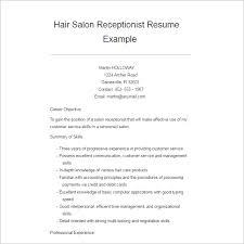 Salon Apprentice Sample Resume Professional Lineman