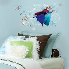 disney s frozen headboard wall stickers with personalisation