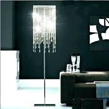 pink chandelier floor lamp pink chandelier floor lamp idea floor lamp chandelier or image of crystal