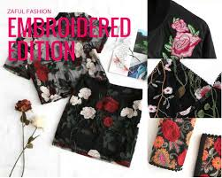 Risultati immagini per zaful Embroidered