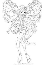 Disegno Di Stella Delle Winx Club Cosmix Da Colorare