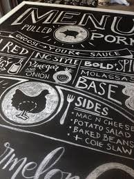 backyard wedding bbq chalkboard menu ideas ended up tenting these with a wood tent backing bbq wedding tent
