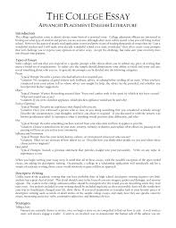 College Application Essay Tips On Template Sample with College ...