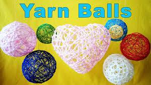 Decorative String Balls Decorative Yarn Balls YouTube 2