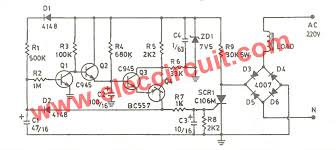 cheap air compressor time delay circuit eleccircuit com schematic diagram of air compressor time delay