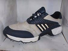 adidas 600001. adidas mens white/blue mesh/suede golf sneakers size 13/48 m 791003 adidas 600001 e
