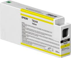 Singlepack Yellow T824400 UltraChrome HDX/HD <b>350ml</b> - <b>Epson</b>