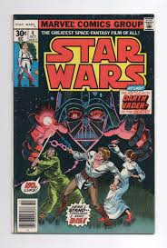 """Marvel Star Wars Comic #4 <b>Reprint</b> """"In Battle With Darth Vader ..."""