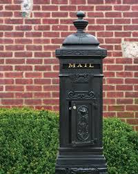 Victorian Pedestal Mailboxes Old House Journal Magazine