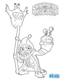 Skylanders Trap Team Coloring Pages Chompy