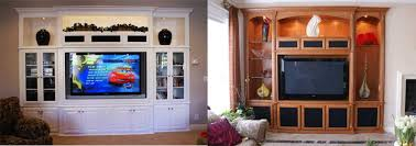 custom built in wall units and entertainment center cabinets in las vegas and henderson