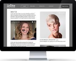Designing Divas Hair Salon La Diva Hair Salon On Behance