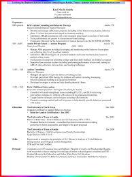 speech therapist resume sample   resume sample