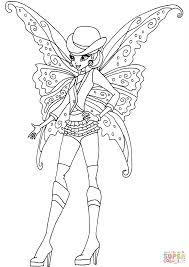 Remarkable Free Printable Gothic Coloring Pages Fairy For Adults