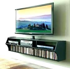 floating wall mount tv stand decorating corner wall mount with shelf for cable box wall mount