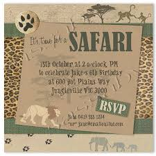Safari Party Invitations Safari Party Invitation Instant Download Partially Editable