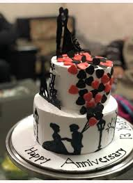 Online Anniversary Cake Delivery In Ludhiana Order Anniversary Cakes